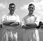 Eric and Alec Bedser 1946.jpg