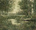 Ernest Lawson - Bathers, Woodland.jpg