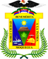 Official seal of Department of Moquegua
