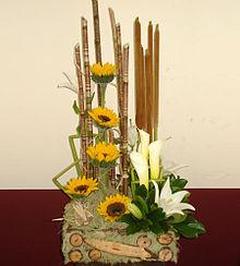 teora y estilos de diseo floraleditar - Composiciones Florales