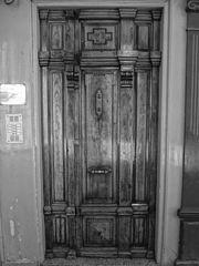 España, Aranda de Duero, Hand Carved Wooden Door, pic bb9.jpg