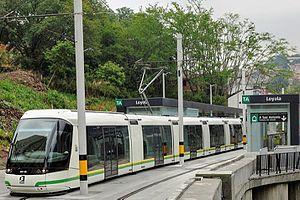 Ayacucho Tram - Medellin rubber tyred tram