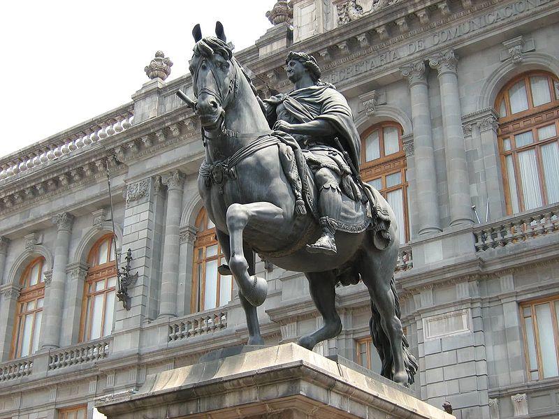 File:Estatua equestre Carlos IV.jpg