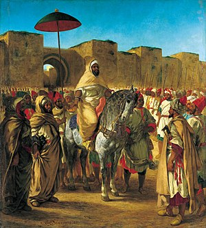 Sultan of Morocco, (1845), Musée des Augustins...