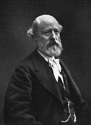 Eugène Viollet-le-Duc - Photograph by Nadar