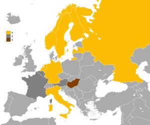 European Speed Skating Championships for Men - Medal winning countries at the European Speed Skating Championships.