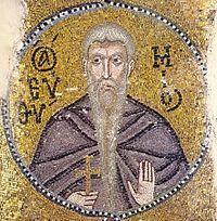 Euthymius the Great (mosaic in Nea Moni).jpg