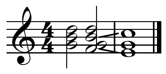Evaded cadence in C