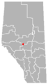 Evansburg, Alberta Location.png