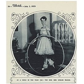Evelyn Gardner British socialite, child of Herbert Gardner