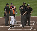 Exchanging Lineup Cards (14062619817).jpg