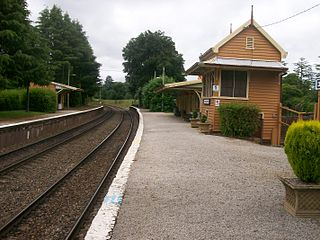 Exeter railway station, New South Wales