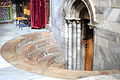 Exit from the Grotto of the Nativity, Bethlehem 028 - Aug 2011.jpg