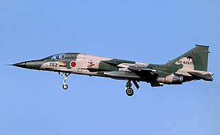 strike fighter aircraft; first jet fighter domestically developed and built in post-war Japan