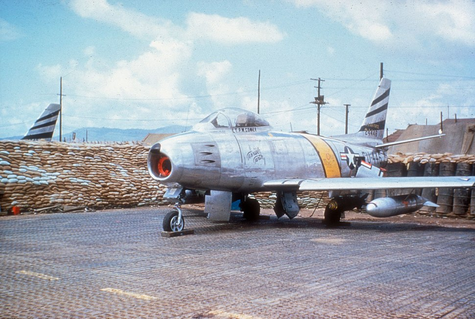F-86F Terrible Turtle 35th FBS Korea c1953