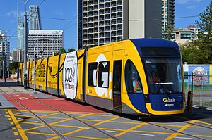Flexity 2 an der Gold Coast