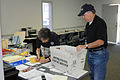 FEMA - 34388 - FEMA Logistics Specialist collects mail at DRC in Kentucky.jpg
