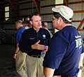 FEMA - 35694 - FEMA Administrator Paulison and Fire chief talk in Wisconsin.jpg