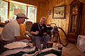 FEMA - 37231 - FEMA inspector speaks with a resident in his Wisconsin home.jpg