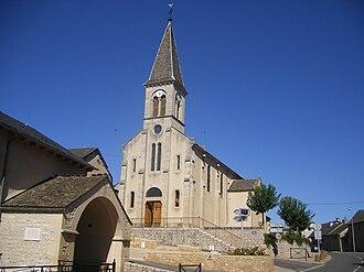 Badaroux - The church in Badaroux
