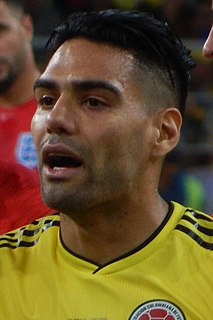 Radamel Falcao Colombian footballer