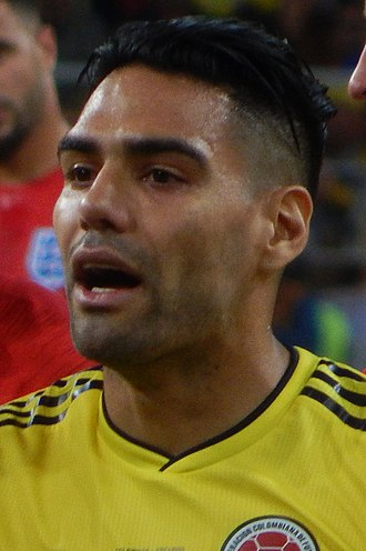 Radamel Falcao - Falcao playing for Colombia at the 2018 FIFA World Cup