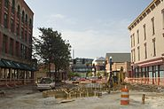 Failed 9th Street Plaza project