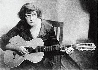 Faina Ranevskaya - Ranevskaya as Zinka in Alexander Tairov's theatrical production of the Sonate pathétique (1931).