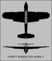 Fairey Barracuda Mark II two-view silhouette.png