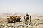Falcon Sqn FUCHS vehicle in Jordan MOD 45164570.jpg