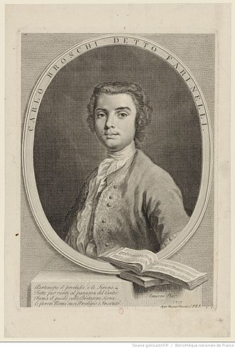 Farinelli - Farinelli, by Wagner after Amigoni 1735