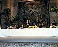 Felipe González interviene durante la recepción ofrecida por el Banco de España, Pool Moncloa. 1 de septiembre de 1988.jpeg