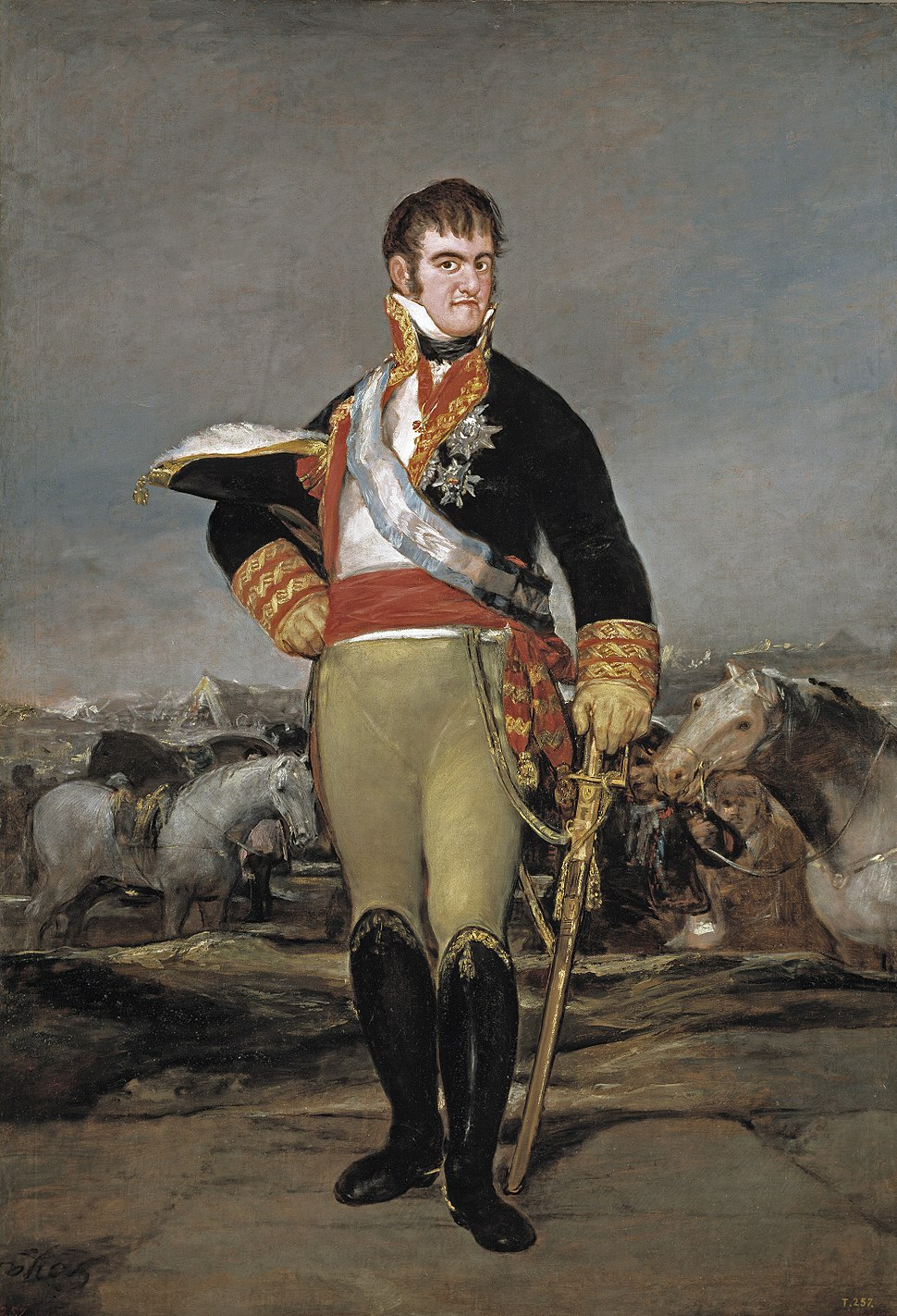 Ferdinand VII of Spain (1814) by Goya