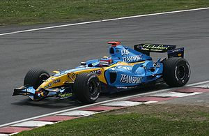 2005 FIA Formula One World Championship - Renault finally won their first Constructors' Championship as a works team with this R25.