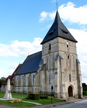 L'église Sainte-Christine.