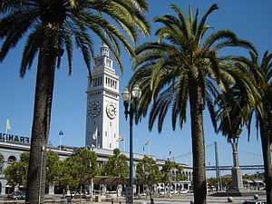 The Ferry Building in San Francisco along the ...