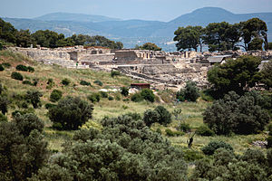 Phaistos - View of Phaistos