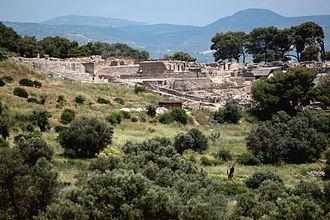 Phaistos - View of Phaistos