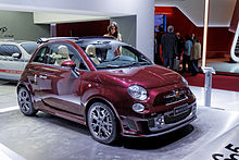 fiat 500 abarth wikip dia. Black Bedroom Furniture Sets. Home Design Ideas