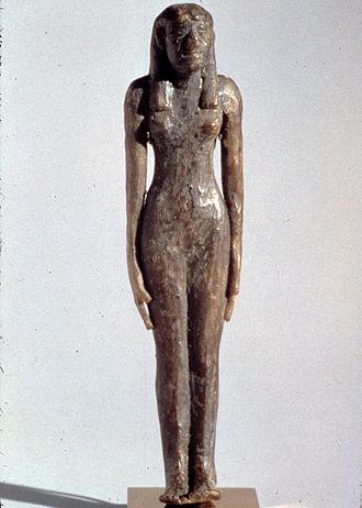 Neferu II - Funerary figurine of Neferu made from wax, from TT319. Metropolitan Museum of Art, New York