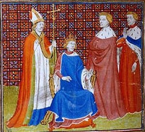 Philip V of France - Philip engineered a hasty coronation after the death of his nephew, the young John I, to build support for his bid for the French throne in 1316-17.