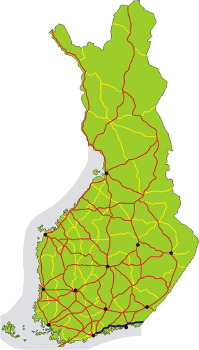 Finnish national road 7 Wikipedia