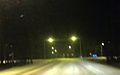 Finnish regional road 213 in Virttaa, just before snowstorm.JPG