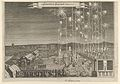 Fireworks given by the Swedish ambassadors to honor Karl Gustav, Count Palatine, executed by Johann Carl, Nuremberg 1650 MET DP855421.jpg