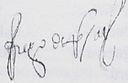 Firma de Diego de Rojas
