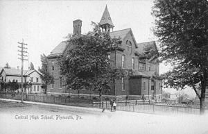 Frederick J. Amsden - Image: First Central High School