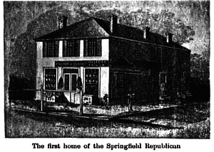 The Republican (Springfield, Massachusetts) - Image: First Home of the Springfield Republican