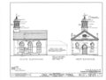 First Presbyterian Church, East Fourth and North Broad Streets, Tuscumbia, Colbert County, AL HABS ALA,17-TUSM,2- (sheet 3 of 8).png