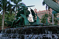Fish Waterfall and Sculpture Atlantis Paradise Island photo D Ramey Logan.jpg