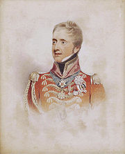 FitzRoy James Henry Somerset, later 1st Baron Raglan (1788-1855), by William Henry Haines (1812-1884)
